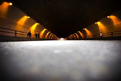 Have You Seen the Light? (Thomas Hawk) Tags: sanfrancisco california city usa unitedstates 10 unitedstatesofamerica tunnel stocktontunnel fav10 photowalking7