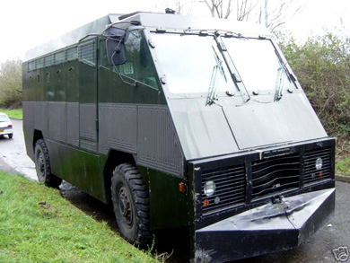 Ebay Watch Armoured Riot Vehicle From Top Gear Sells For 25 000