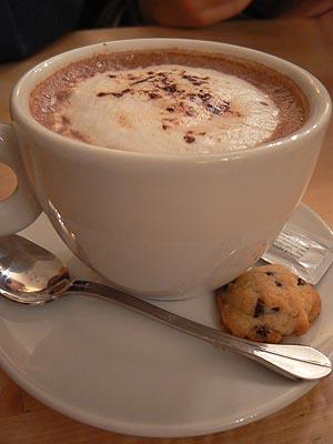 chocolat chaud Sospel