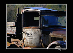 Old Truck (Bonell Photography (dasbull)) Tags: light usa color colour art texture love tourism nature beautiful beauty contrast photoshop truck work dark real fun lumix us photo washington amazing cool fantastic artwork flickr niceshot shot angle natural northwest image framed awesome feel great joy perspective picture rusty atmosphere location best sharp panasonic frame passion pacificnorthwest pro northamerica wa washingtonstate pnw hardwork tone borders trucking authentic exciting generic 2007 galvin graysharbor fz50 amature joyfull twinharbors hoquiam busek dmcfz50 panasonicdmcfz50 dasbull woodtop ronbonell