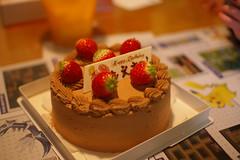苺の生チョコケーキ5号