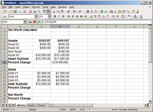 Debt Calculator 6