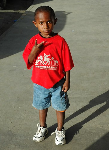 Boy in Fiji