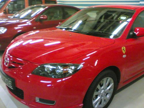 Mazda Ferrari?