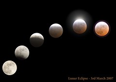 Lunar eclipse 3 March 2007