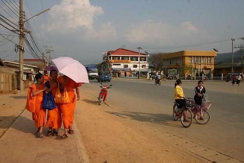 Phonsavanh city centre...