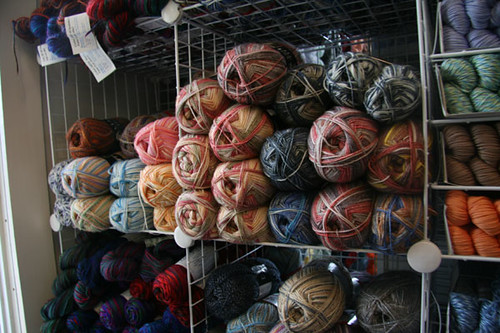 Sock Yarn selection