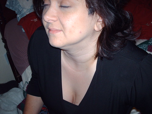 Downblouse Wife