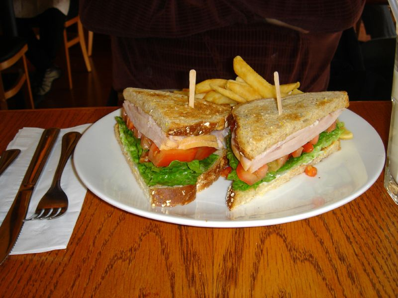 Smoked Turkey Sandwich