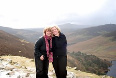 Rebecca and Darcy in Wicklow