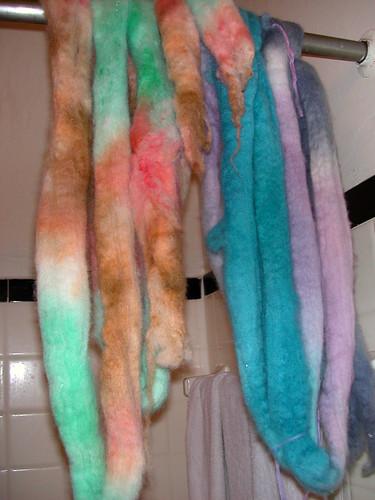 dyed shetland