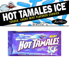 "Hot Tamales Ice - Retro 1980 - 2007 - A ""What If?"" box design."