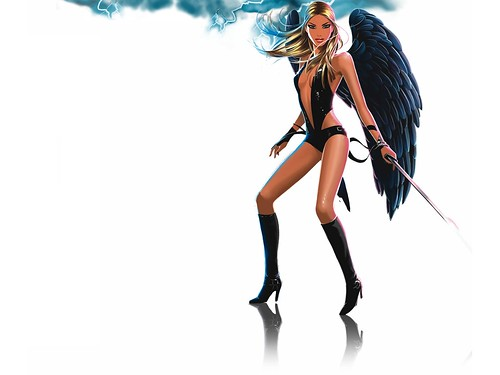 Jason Brooks for Fierce Angel — Thunder Disco Angel 2006