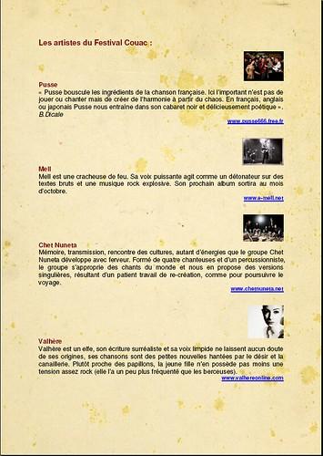 MON SLIP ET MIGALE PROD présentent le 1er festival COUAC 420366579_54e39c7344