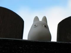 White Small Totoro