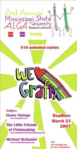 We Heart Graphix EXTENDED DEADLINE