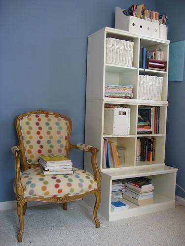 Blue Room Bookshelf