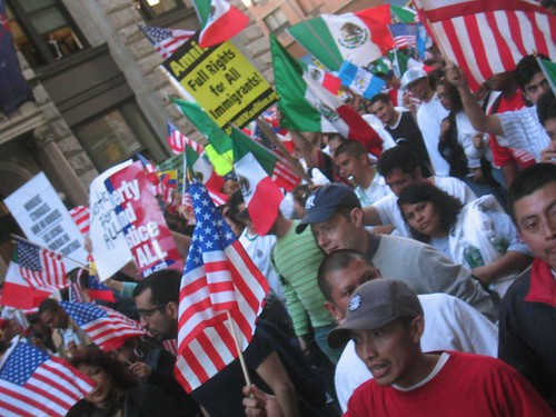 Immigrant Rights March by Kevin Coles, on Flickr