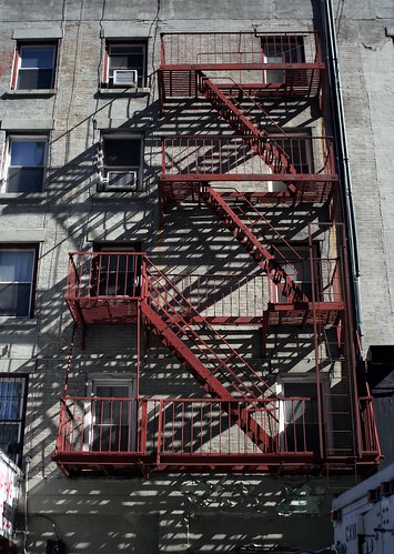 This is a example of fire escape stairs.