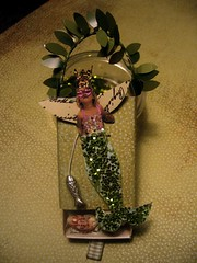 matchbox-mermaid (moline) Tags: green fairy swap mermaid matchbox