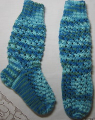 Infant's Fancy Silk Sock