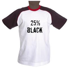 25% black
