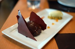 Pistachio and Dark Chocolate Dome