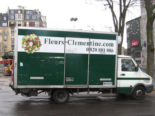 clementine fleurs, gare montparnasse