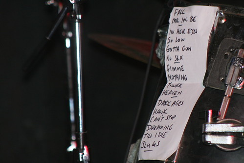 20060929 - NoMeansNo concert - (by AE) - set list
