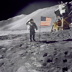 Released to Public: Apollo 15 on the Moon (NASA)