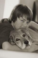 His puppy (_.Chris._) Tags: family arizona bw bc soccer grandcanyon piano bridges explore