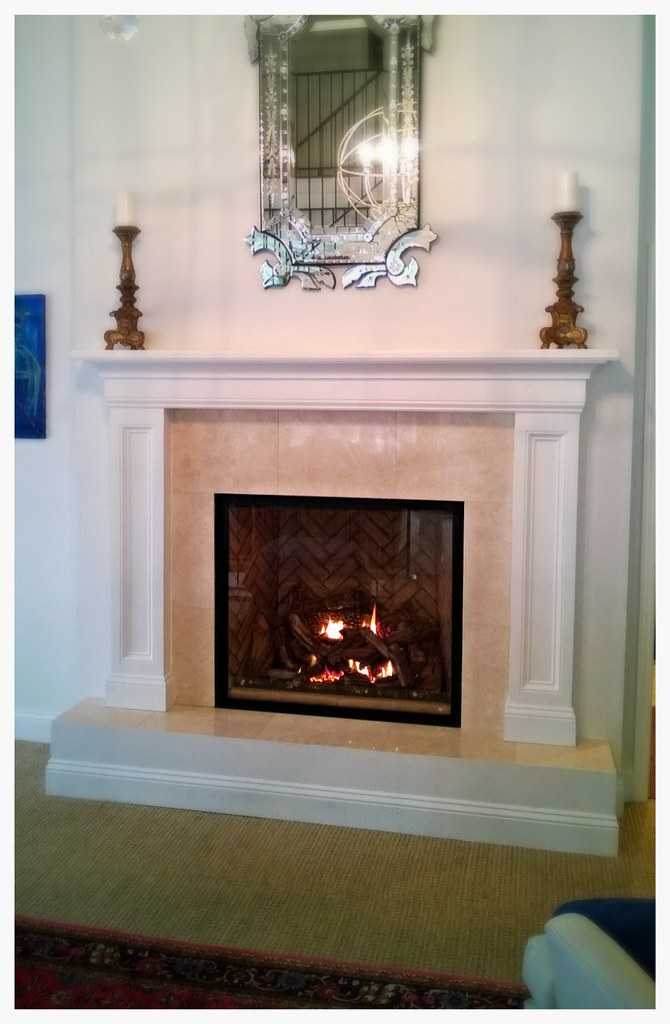 Mendota FV46 Full View Direct Vent Fireplace. Chattanooga, Tn.