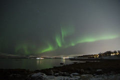 Northern Lights Tromsø (Robin Geys) Tags: tromsø nikon d90 tokinaaf1224mmf4 northern lights aurora borealis