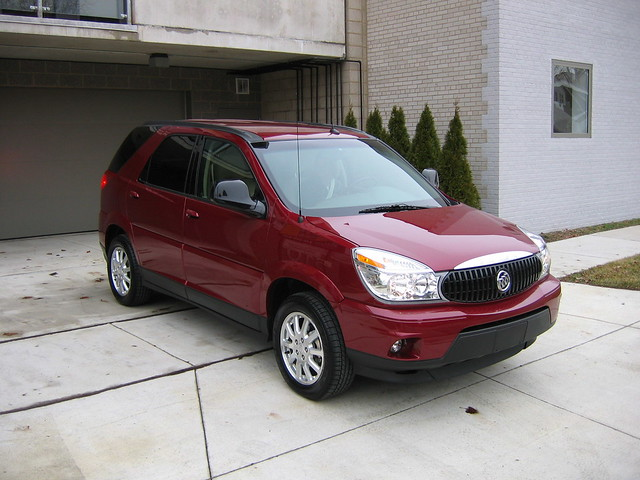 auto car buick gm suv rendezvous 2007