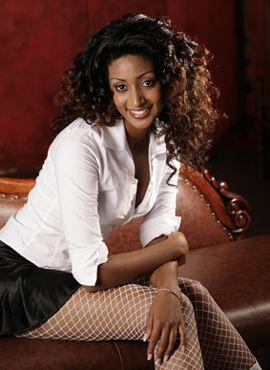 Blonde Party Sexyäthiopische Frauen