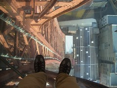Blackpool tower glass floor (dullhunk) Tags: blackpool glassfloor blackpooltower