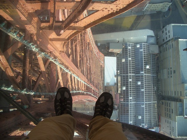 Blackpool tower glass floor