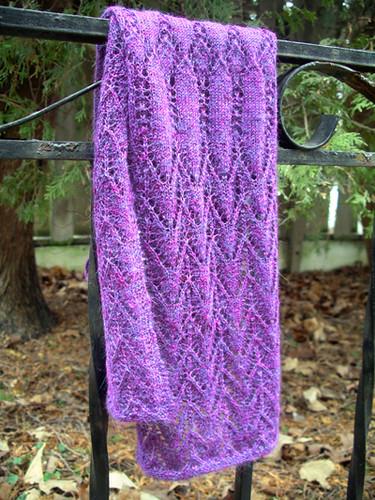 rosaleen's birthday scarf