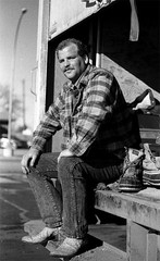 worker in Redwood Falls
