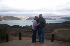 Jesse and me at the Lake