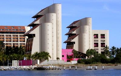 Odd condo architecture