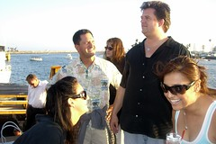 Lynette, Jim, and Amy on board (FrogMiller) Tags: ocean california ca charity cruise sea party music beach drunk fun boat ship amy group drinking jim socal longbeach alcohol lawyers reggae lynette lawyer boatcruise longbeachca attorney boozecruise lbc attorneys ocbarristers