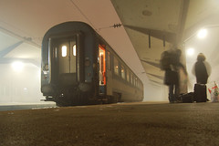 New Arrivals (stevec77) Tags: travel mist fog train d50 lights carriage sarajevo bosnia dean platform trains nikond50 passengers bags kumail traincarriage bosniaandherzegovina bosnaihercegovina mv magyarllamvasutak ourworld2007 bbcopenlab