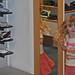 Ella in a shoe shop, Chichester, 5th. Jan., 2007