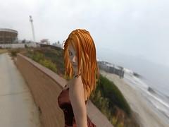 Gwyn in a RL Landscape (Gwyneth Llewelyn) Tags: secondlife gwyneth llewelyn