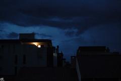 (carolt.) Tags: blue azul clouds sunrise portoalegre nikond50 nuvens riograndedosul amanhecer