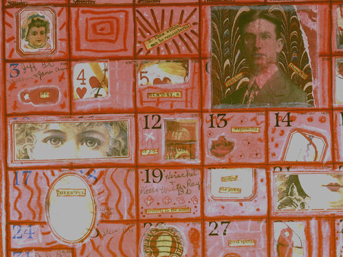Altered Calendar - January (detail)