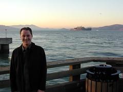 Brian with Alcatraz