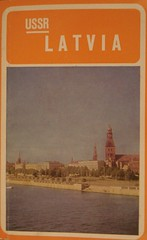 Cover of Latvia guidebook