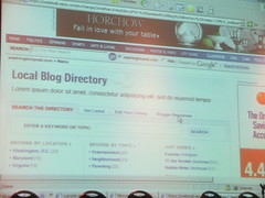 WaPo future Local Blog Directory